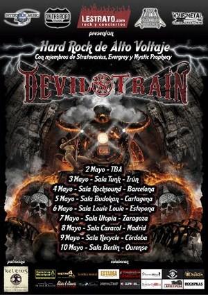 Cambios en la gira de Devil's Train