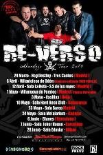 Re-Verso: gira Abordaje Tour 2014