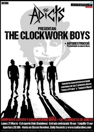 Hoy concierto de The Adicts en Badalona