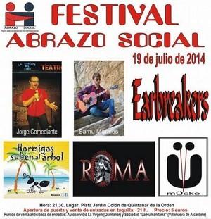 Festival solidario Abrazo Social