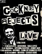 Cockney Rejects vuelven en octubre