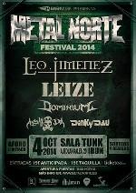 Cartel completo del Metal Norte Festival 2014